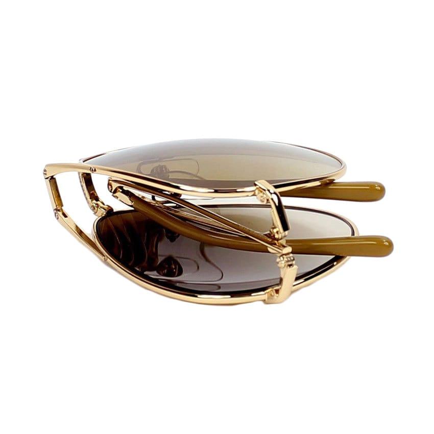 b7da75707dda Shop Burberry Men's BE3071 Metal Aviator Sunglasses - Gold - Large - Free  Shipping Today - Overstock - 10006462