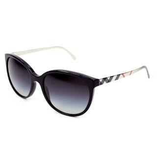 Burberry BE4146 Women's Metal & Plastic Round Sunglasses