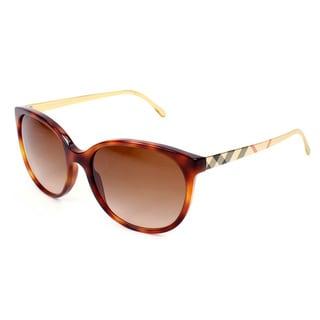 Burberry BE4146 Women's 340713 Havana Plastic Sunglasses