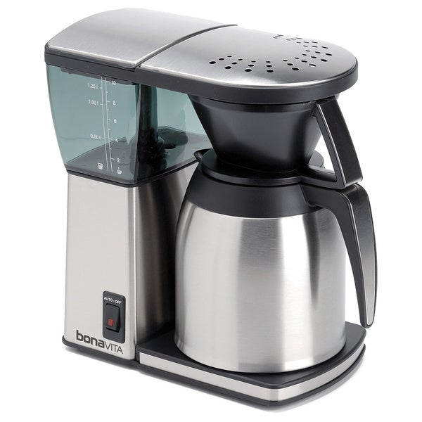 Bunn Coffee Maker Hot Plate Not Working : Bonavita BV1800SS Stainless Steel 8-Cup Original Coffee Brewer - Free Shipping Today - Overstock ...