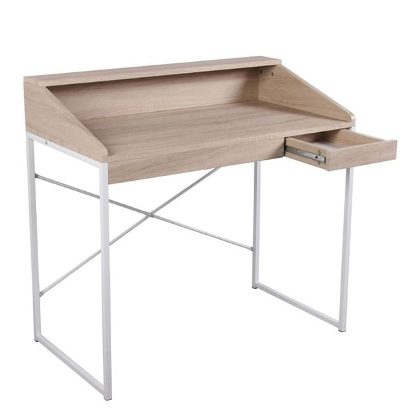 Pax White Birch Student Desk - Free Shipping Today - Overstock.com