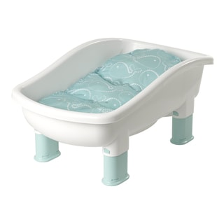 Baby's Journey Comfort Plus Perfect Height Whale Dot Tub
