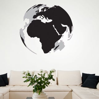 3D Earth Vinyl Wall Art