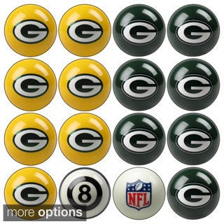 NFL Team Billiard Balls (Complete Set of 16 Balls)