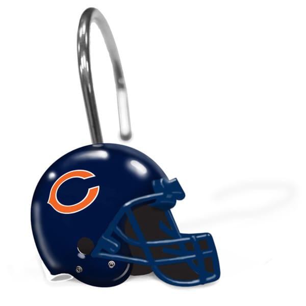 NFL 942 Bears Shower Curtain Rings