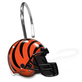 NFL 942 Bengals Shower Curtain Rings