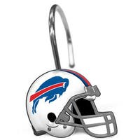 NFL 942 Bills Shower Curtain Rings