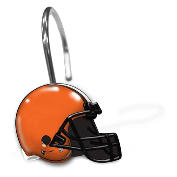 NFL 942 Browns Shower Curtain Rings
