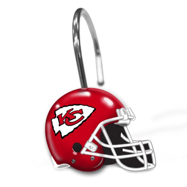 NFL 942 Chiefs Shower Curtain Rings