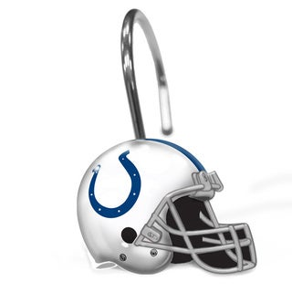 NFL 942 Colts Shower Curtain Rings