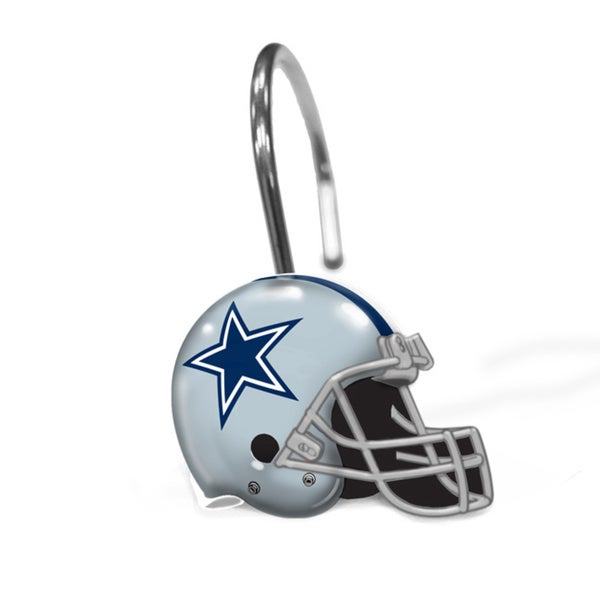 NFL 942 Cowboys Shower Curtain Rings