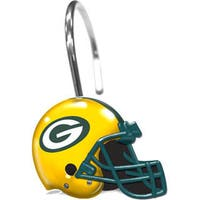 NFL 942 Packers Shower Curtain Rings