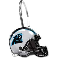 NFL 942 Panthers Shower Curtain Rings