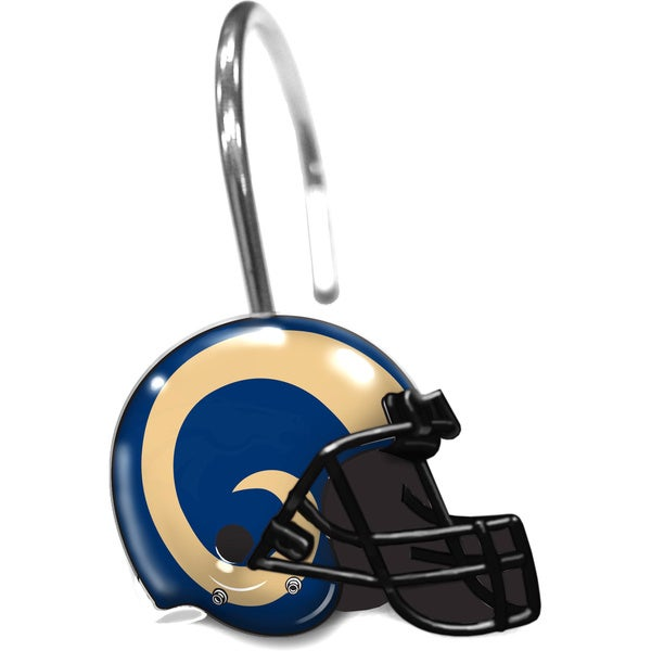 NFL 942 Rams Shower Curtain Rings