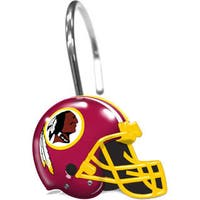NFL 942 Redskins Shower Curtain Rings