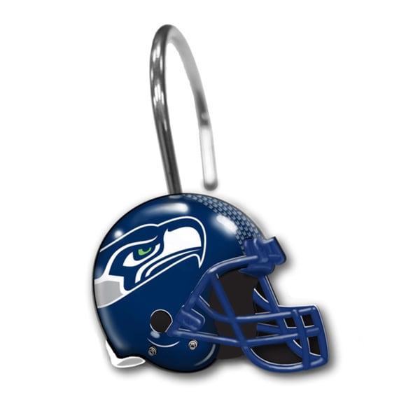 NFL 942 Seahawks Shower Curtain Wings