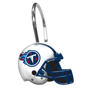 NFL 942 Titans Shower Curtain Rings