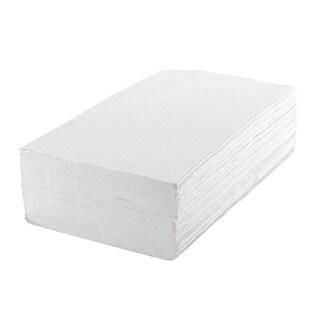 Medline Standard Single Fold Towels, White (Case of 4000 Towels)