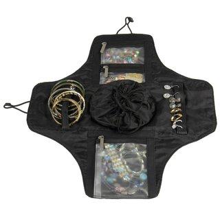 Household Essentials Black Four N Fold Jewelry Organizer