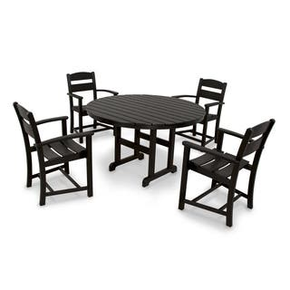 Ivy Terrace Classics 5-piece Outdoor Dining Set|https://ak1.ostkcdn.com/images/products/10006889/P17155559.jpg?impolicy=medium