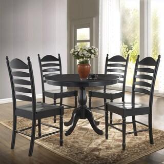 Laurel Creek Edmond Round Pedestal Dining Table (4 options available)
