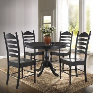 Laurel Creek Edmond Round Pedestal Dining Table (More Options Available)