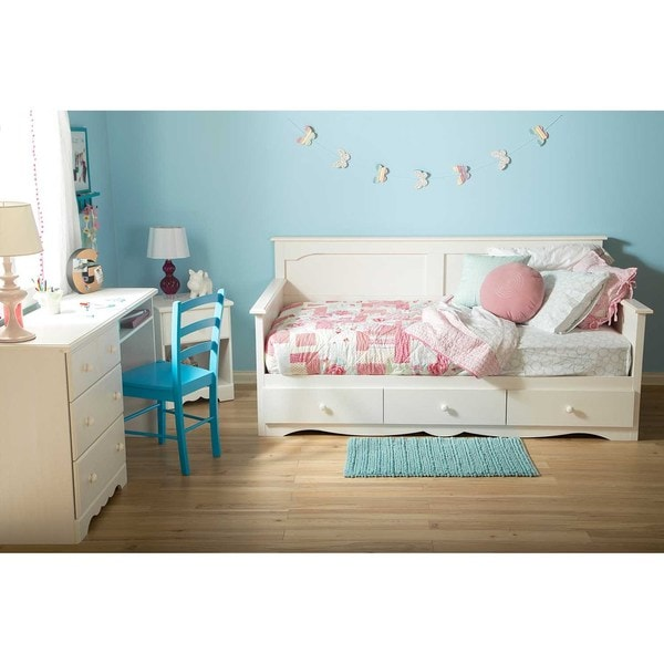 South Shore Summer Breeze Twin Daybed with Storage
