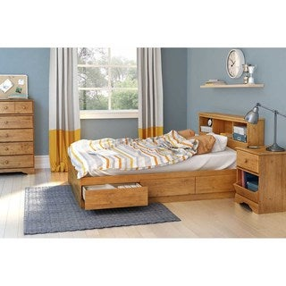 Laurel Creek Evie 3-drawer Full Mates Bed