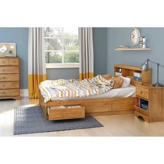 foter explore drawer oak with captains storage drawers bed frames