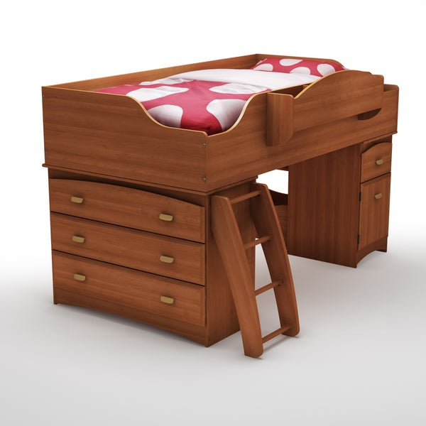 South Shore Imagine Twin Loft Bed Free Shipping Today