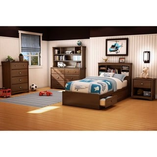 South Shore Willow Twin Mates Bed