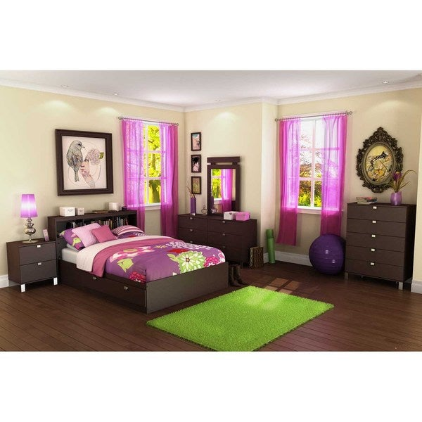 South Shore Spark Mates Bed with Drawers