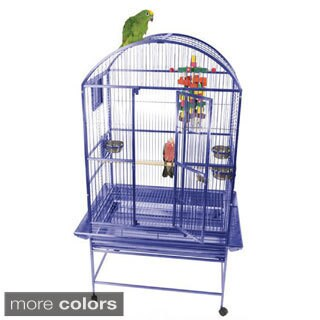 A&E Cage Co. Wrought Iron Dome Top Bird Cage (32 x 23)