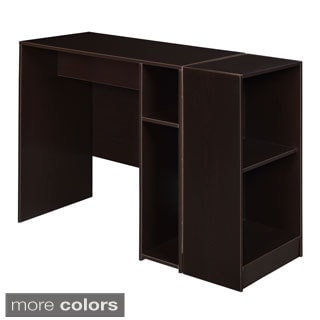 Niche No Tools Assmebly 31-inch Desk with 2-shelf Bookcase