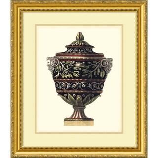 Framed Art Print 'Antonini Clementino Urn I' by Da Carlo Antonini 23 x 27-inch