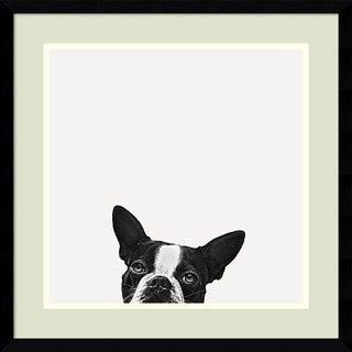 Jon Bertelli 'Loyalty' Framed Art Print 20 x 20-inch