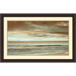 Framed Art Print 'The Surf' by John Seba 44 x 28-inch