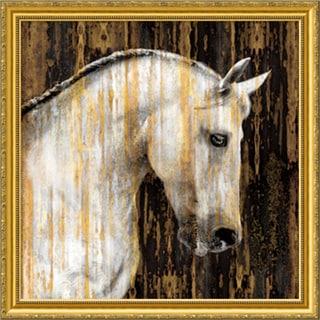 Martin Rose 'Horse II' Framed Art Print 30 x 30-inch