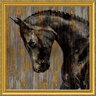 Framed Art Print 'Horse I' by Martin Rose 31 x 31-inch