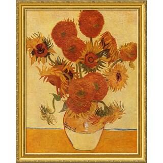 Vincent van Gogh 'Sunflowers, 1888' Framed Art Print 26 x 33-inch