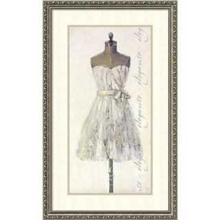 Framed Art Print 'Elegante (Elegant)' by Leila 20 x 32-inch