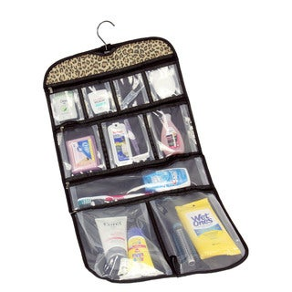 Household Essentials Leopard Hanging Travel Organizer