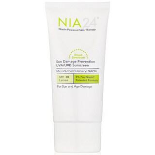 NIA 24 Sun Damage Prevention SPF 30 UVA/UVB 2.5-ounce Sunscreen