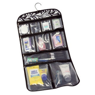 Household Essentials Zebra Hanging Travel Organizer