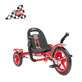 Mobo Tot Disney Pixar Cars- Lightning McQueen: A Toddler's Ergonomic Three Wheeled Cruiser