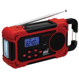 First Alert AM/FM Weather Band 4-Way Power Radio