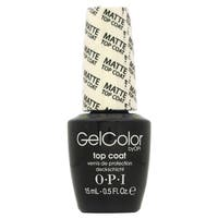 OPI GelColor Matte Top Coat Soak-Off Gel Lacquer