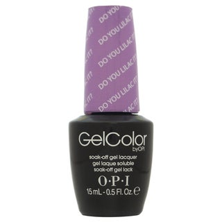 OPI GelColor Do you Lilac It? Soak-Off Gel Lacquer