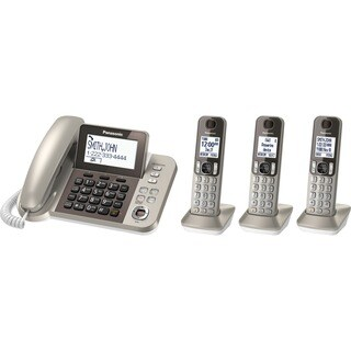 Panasonic KX-TGF353N DECT 6.0 Cordless Phone - Champagne Gold