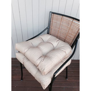 Rattan Indoor / Outdoor Chair Pads (Set of 2)